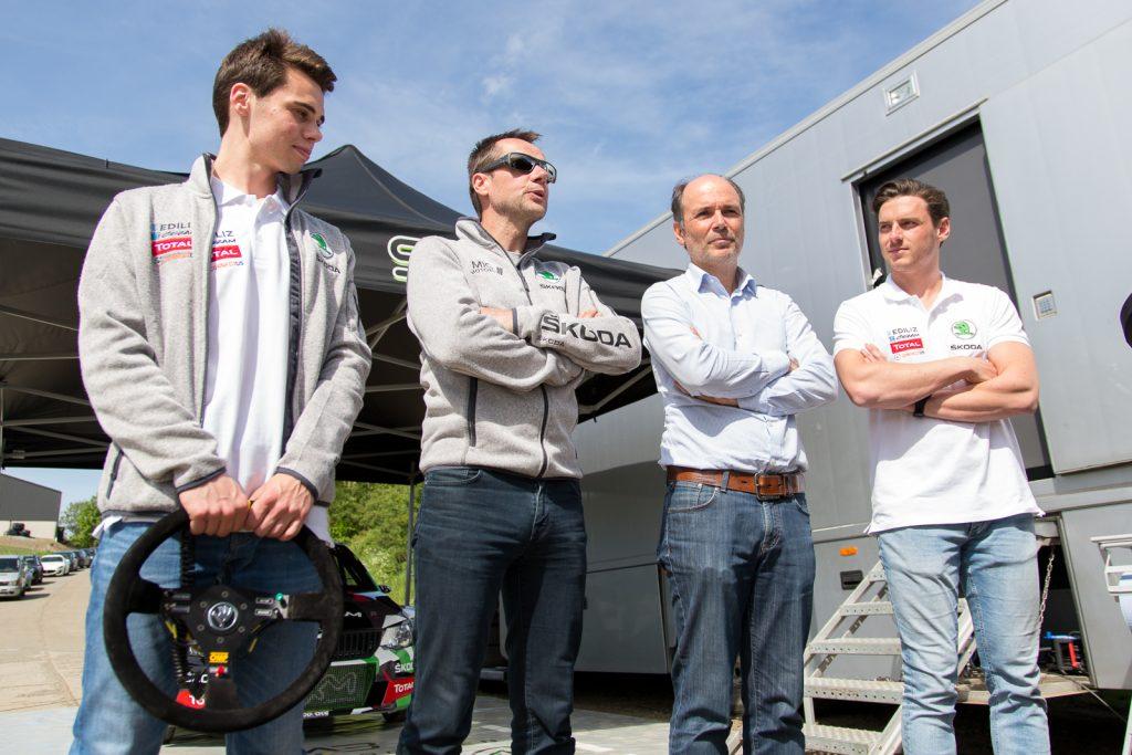 Mai 2017 – Team: Achiel Boxoen, Freddy Loix, Johan Gitsels & Jasper Vermeulen