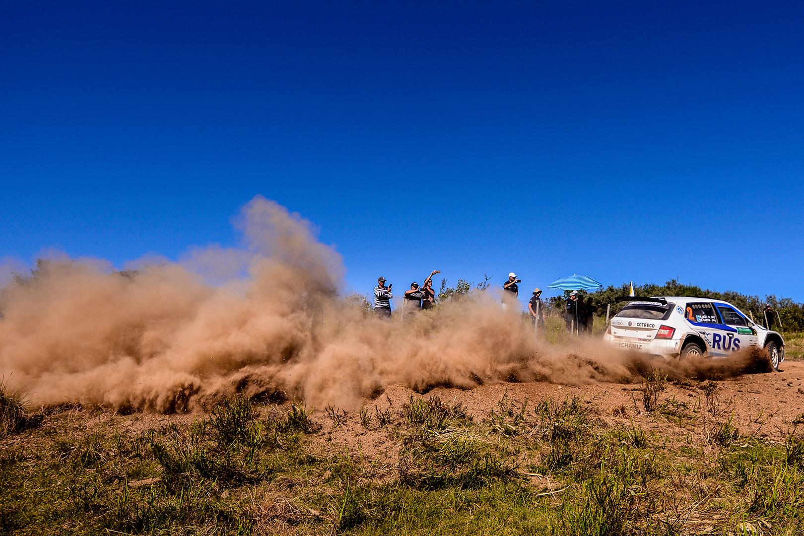 Marcos Ligato / Ruben García, ŠKODA FABIA R5. Rallye del Atlántico 2017