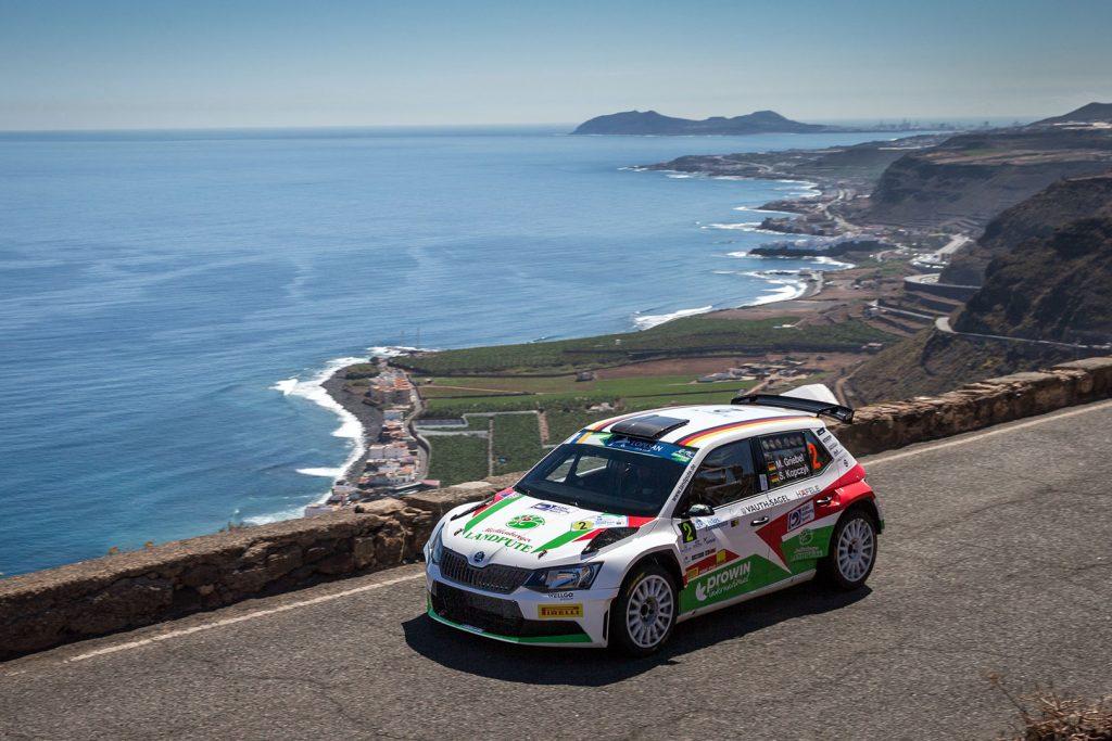 Marijan Griebel / Stefan Kopczyk, ŠKODA FABIA R5, Marijan Griebel. Rallye des Îles Canaries 2017