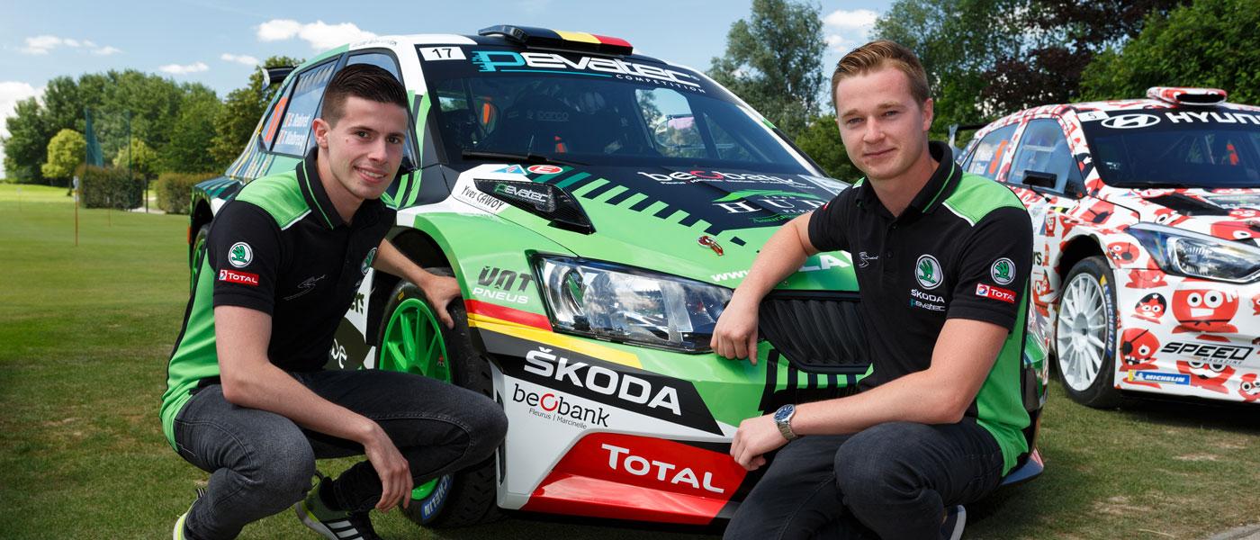 """Sébastien Bedoret aan de start van de Deutschland Rally: """"Een droom die werkelijkheid wordt!"""""""